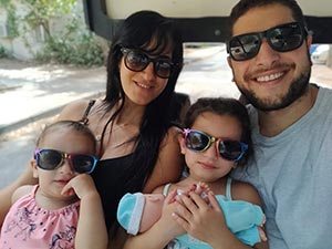 almog and his family